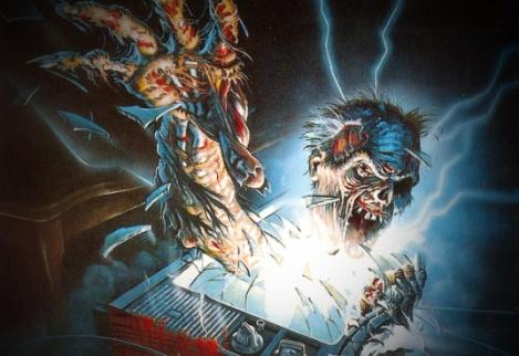 "Carátula de ""The Video Dead"", 1987."